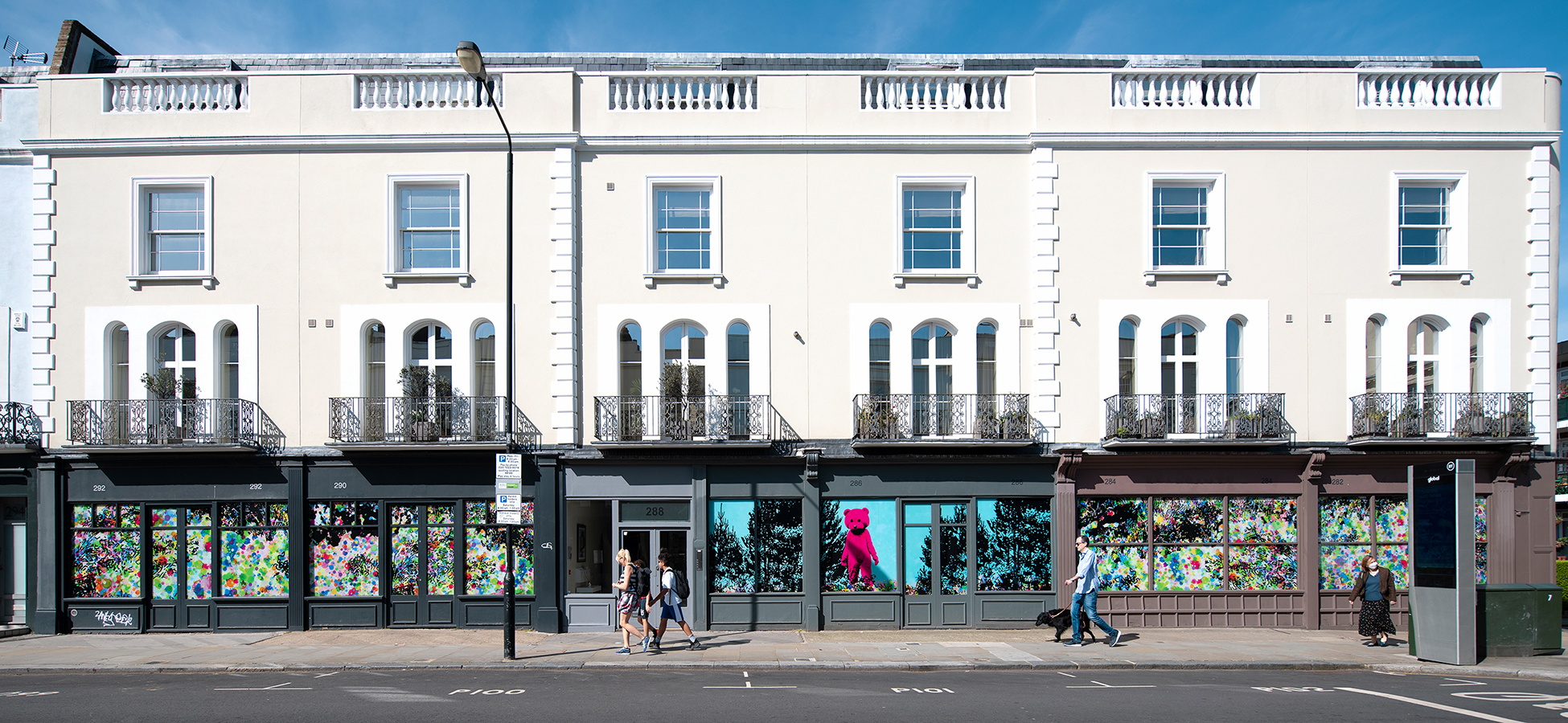 Good Vibrations - Mural - Notting Hill