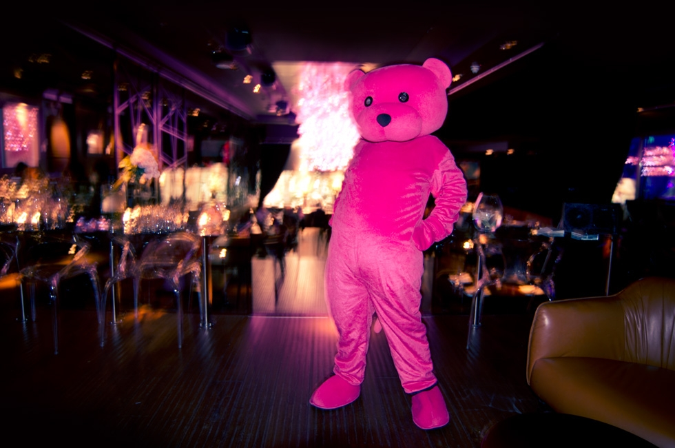 The Pink Bear at Yaneff at DSTRKT
