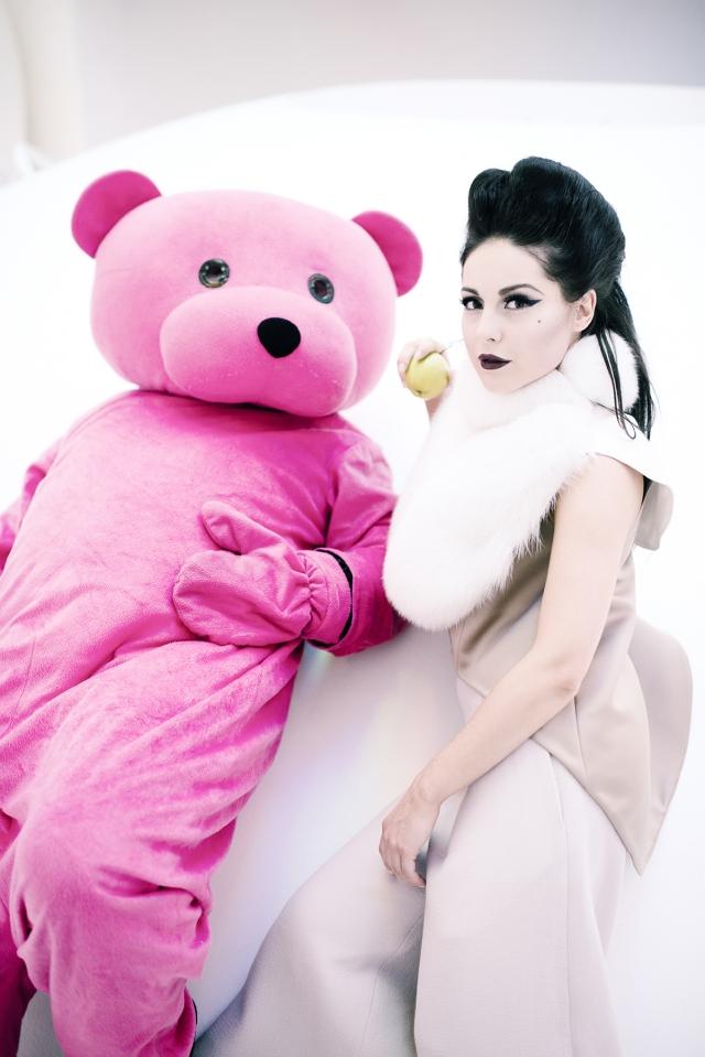 Pink Bear - Louise Thompson - Sketch Mayfair